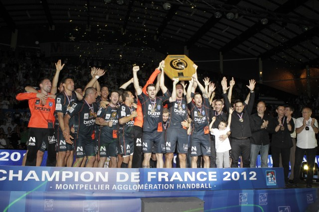 Montpellier Champion de France  - Saison 2011 2012