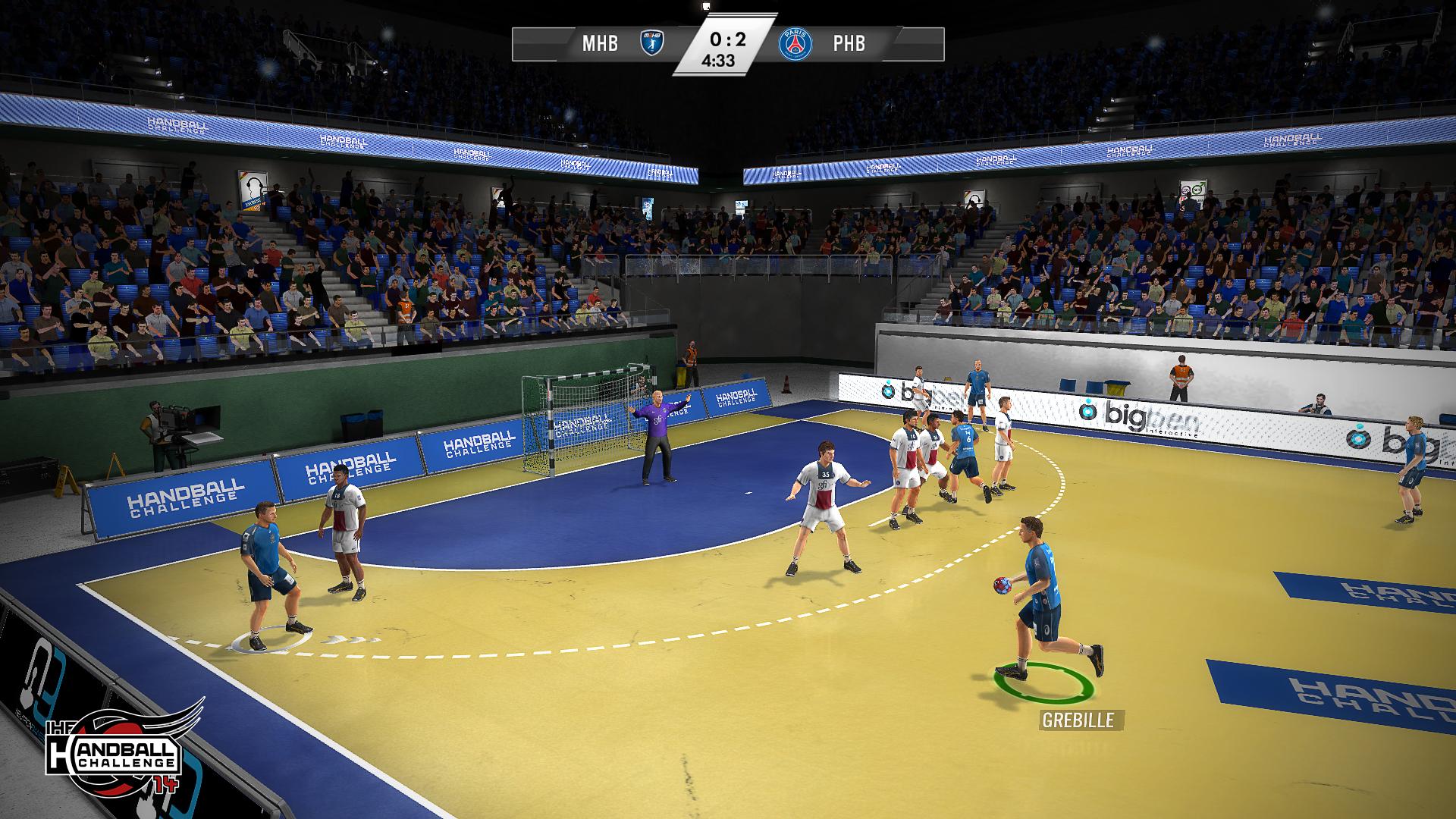 jeux handball challenge 14 en approche handnews. Black Bedroom Furniture Sets. Home Design Ideas