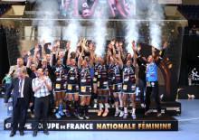 Le Metz Handball vainqueur du HBC Nîmes [Photo : S. Pillaud / FFHB]