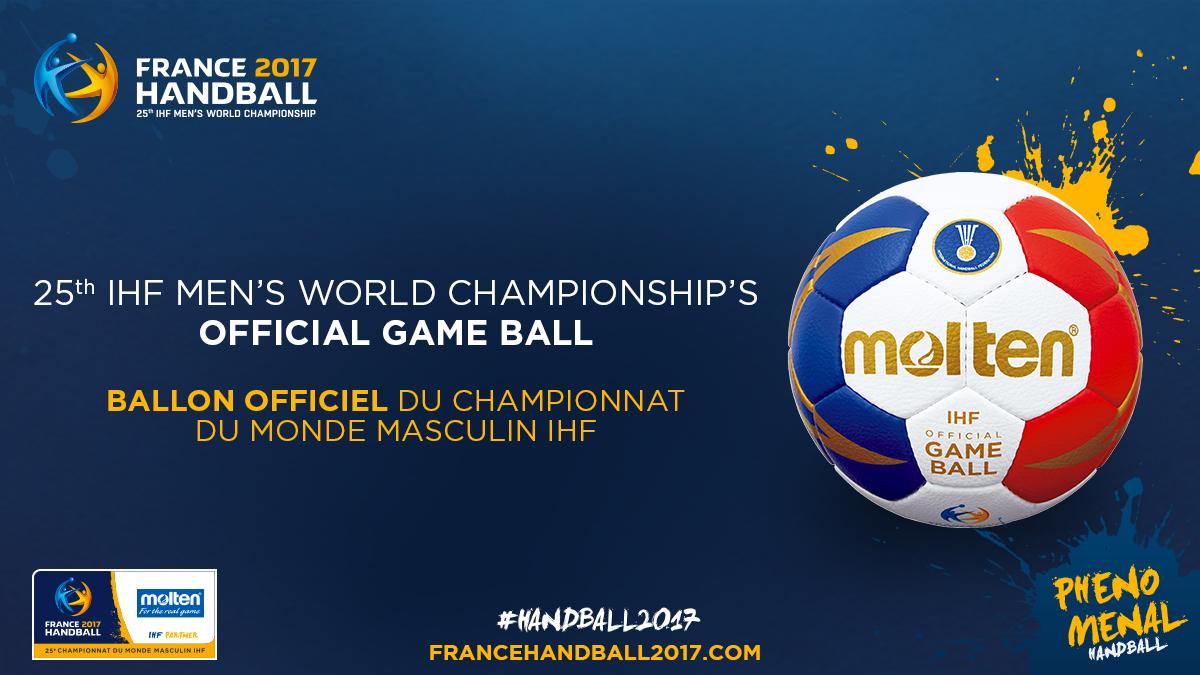 Mondial 2017 le ballon officiel d voil handnews - Coupe de monde de handball ...